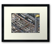 Art of Industry Abstract Framed Print