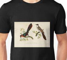 Bilder atlas zur Wissenschaftlich populären Naturgeschichte der Vögel in ihren sämmtlichen Hauptformen Leopold Joseph Fitzinger 1864 027 Unisex T-Shirt