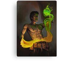 Tattooed Sorcerer Canvas Print