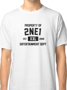 Property of 2NE1 (Black Ver) Classic T-Shirt