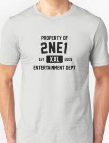 Property of 2NE1 (Black Ver) Unisex T-Shirt