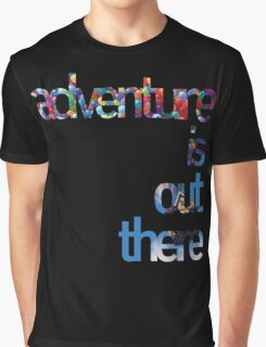Up - Adventure is out there Graphic T-Shirt