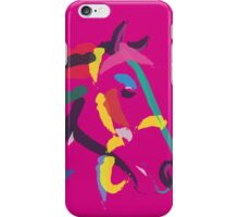 Horse- Colour me strong iPhone Case/Skin