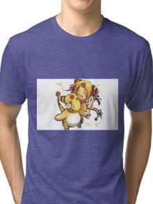 Human with Amphroas Tri-blend T-Shirt