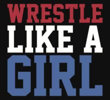 WRESTLE LIKE A GIRL One Piece - Long Sleeve