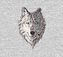 Mandala wolf vol.2 Unisex T-Shirt