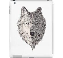 Mandala wolf vol.2 iPad Case/Skin