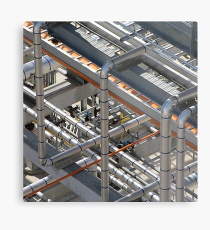 Art of industry Abstract  Metal Print