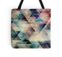 grunge triangle /Agat/  Tote Bag