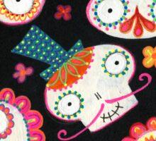 Sugar Skulls & Flowers Sticker