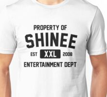 Property of SHINee (Black Ver) Unisex T-Shirt