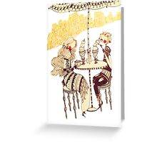 Ice Cream Café Greeting Card