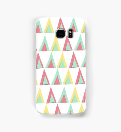Vector geometric background. Colorful triangles theme Samsung Galaxy Case/Skin