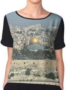 Jerusalem Cityscape Chiffon Top
