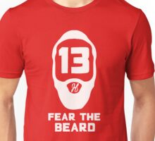 James Harden Fear the Beard - White Unisex T-Shirt
