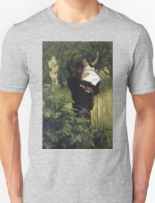Vintage famous art - James Tissot - The Widower Unisex T-Shirt
