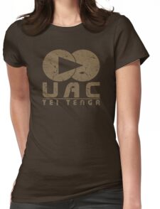 DOOM UAC Vintage Womens Fitted T-Shirt