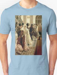 Vintage famous art - James Tissot - The Woman Of Fashion Unisex T-Shirt