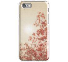 PAPER LINEN SUN iPhone Case/Skin