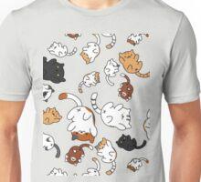 neko atsume pattern Unisex T-Shirt