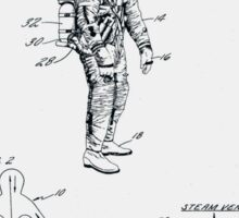 Space Suit Patent 1967 Sticker