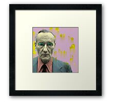 William Burroughs  Framed Print