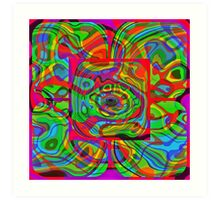 Psychedelic #1 Art Print