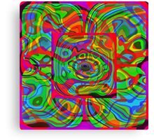 Psychedelic #1 Canvas Print