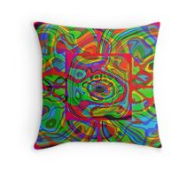 Psychedelic #1 Throw Pillow