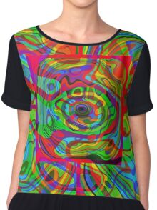 Psychedelic #1 Chiffon Top