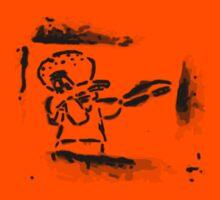 Squidward Dab Graffiti Kids Tee