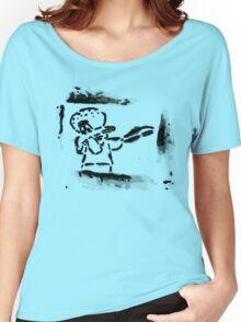 Squidward Dab Graffiti Women's Relaxed Fit T-Shirt