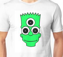 Alien Bart Unisex T-Shirt