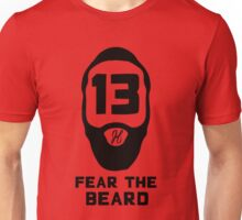 James Harden Fear the Beard - Black Unisex T-Shirt