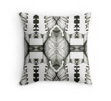 Repeating Psychedelic , Punk Throw Pillow