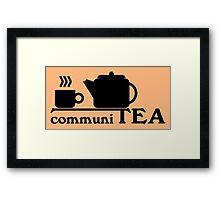 CommuniTEA Framed Print