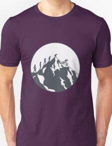 Evolution of Mountain biking   2 Unisex T-Shirt