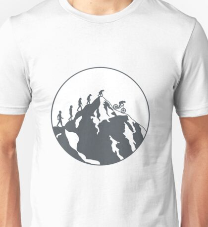 Evolution of Mountain biking | 2 Unisex T-Shirt