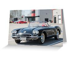 C1 Corvette at NCM Motorsports Park Greeting Card