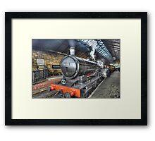 Old Steamer Framed Print