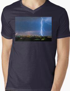 Night Strike Mens V-Neck T-Shirt