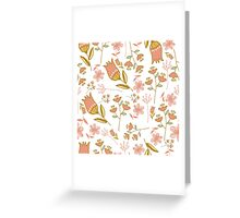 Floral Pattern iPhone Case and Wallet Greeting Card