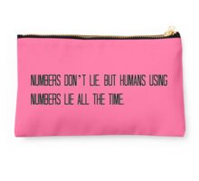 Numbers Don't Lie Studio Pouch