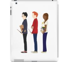 Harry Potter, Ron Weasley and Hermione Granger iPad Case/Skin