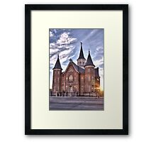 Provo City Center Temple, Provo Utah Framed Print