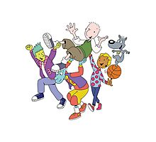 Doug Funnie & Friends Photographic Print