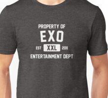 Property of EXO (White Ver) Unisex T-Shirt