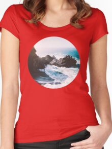 On The Edge Women's Fitted Scoop T-Shirt