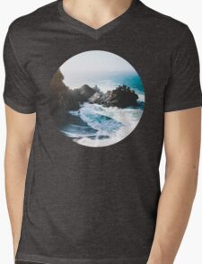 On The Edge Mens V-Neck T-Shirt