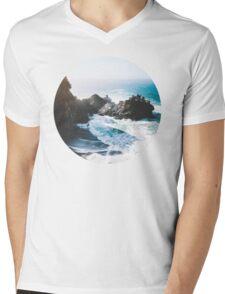 On The Edge Mens V-Neck T-Shirt